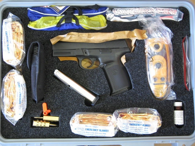 end of the world survival kits feat chuck norris guns activated