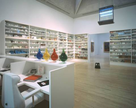 Pharmacy 1992 by Damien Hirst born 1965